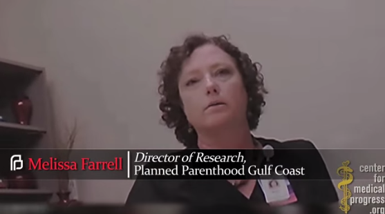 MELISSA FARRELL - DIRECTOR OF RESEARCH, PLANNED PARENTHOOD GULF COAST (TEXAS)